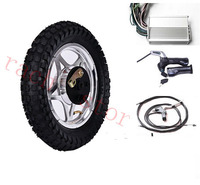 12 front wheel electric scooter kit , electric scooter spare parts ,electric skateboard conversion kit