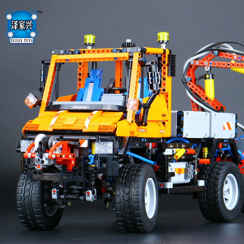 New 2088Pcs Technic Truck Unimog U400 Model Building Kits Blocks Bricks Funny Educational Gifts Compatible LEPINE Figures Toys lepine model