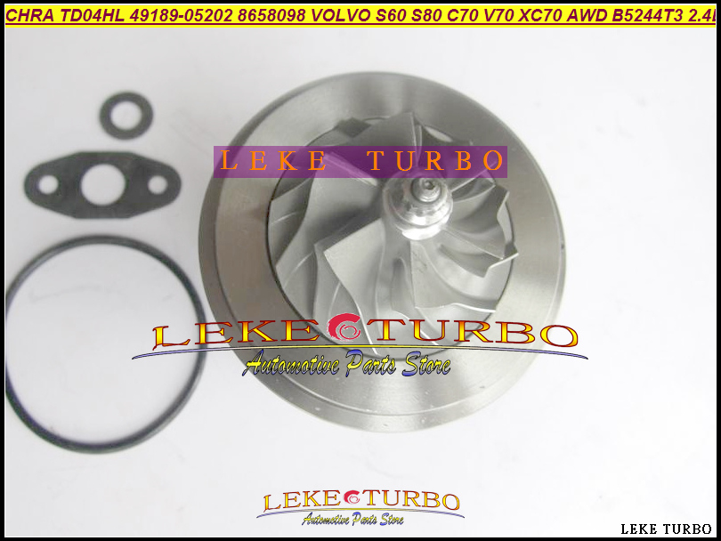 Turbo Cartridge CHRA TD04HL TD04HL 49189-05202 8658098 8602396 49189 05202 For VOLVO S60 S80 C70 V70 XC70 AWD B5244T3 2.3L 2.4L