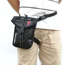 Fastride PU vízálló comb kosár LEG Bag motoros lovaglás WAIST zsák Fanny Pack nagy kapacitású file telefon zsák nagykereskedés ZC003F
