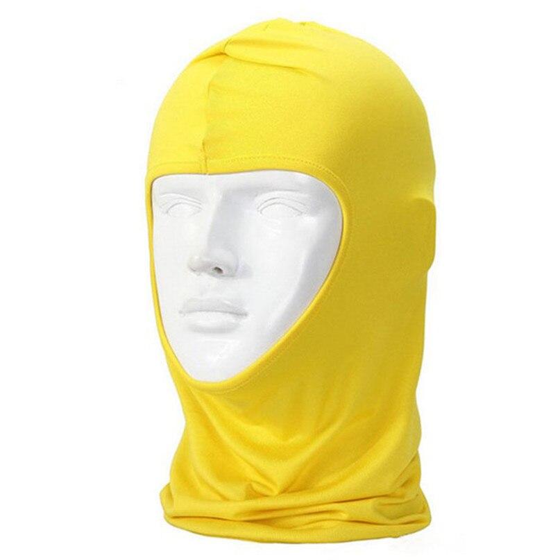New Classic Lycra Ski Face Mask Bike Bicycle CS Sports Football Mask Balaclava Headband headgear halloween face mask #2a (3)