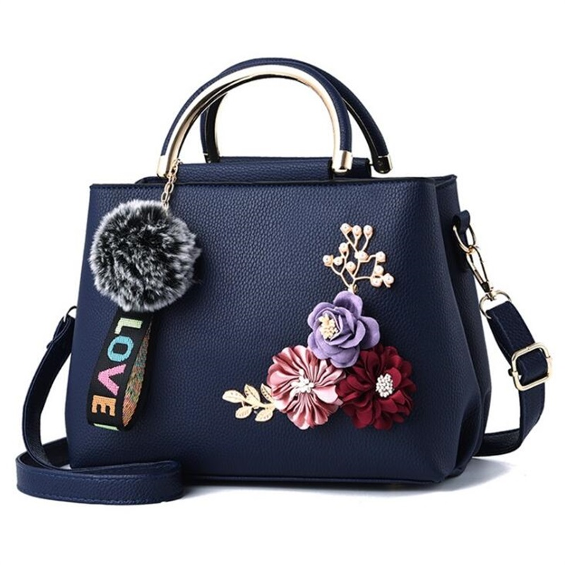7 color flowers shell Womens tote Leather Clutch Bag Ladies Handbags Brand Women Messenger Bags Sac A Main Femme shoulder bag