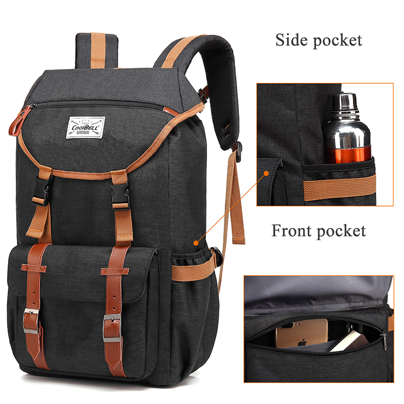 SAMI STUDIO Laptop Bag Backpack Multi functional Business Travel Notebook Backpacks Fits 17 3 Inch Laptop Computer in Backpacks from Luggage Bags