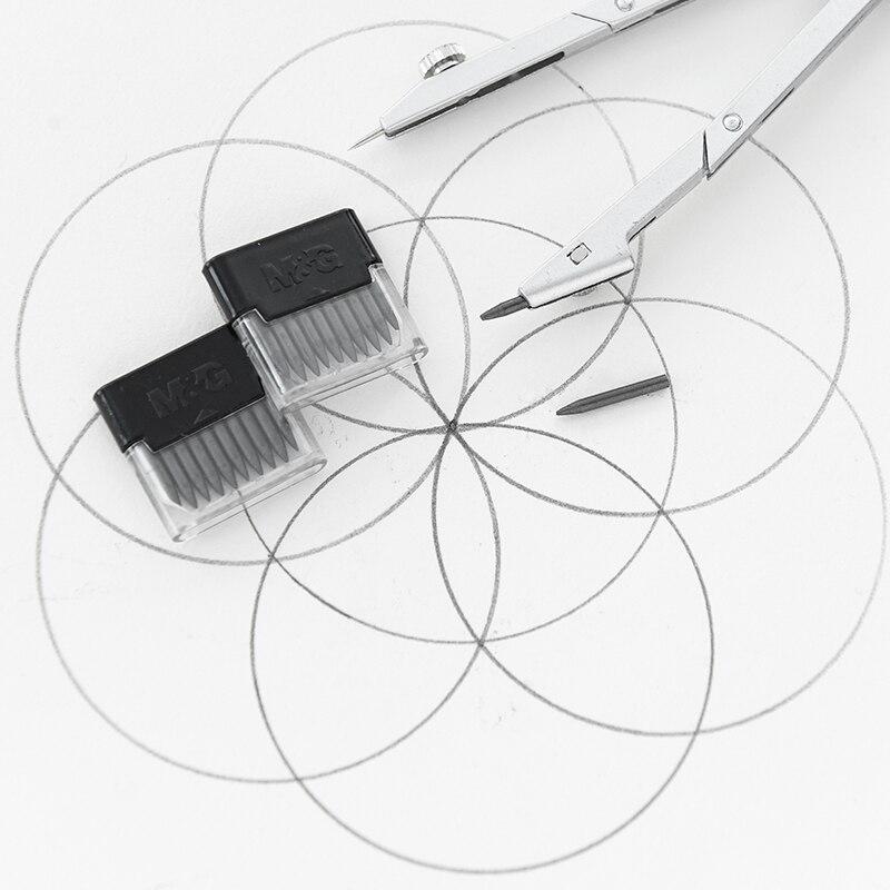 Сменный карандаш с компасом, 20 шт./компл., 2,0 мм