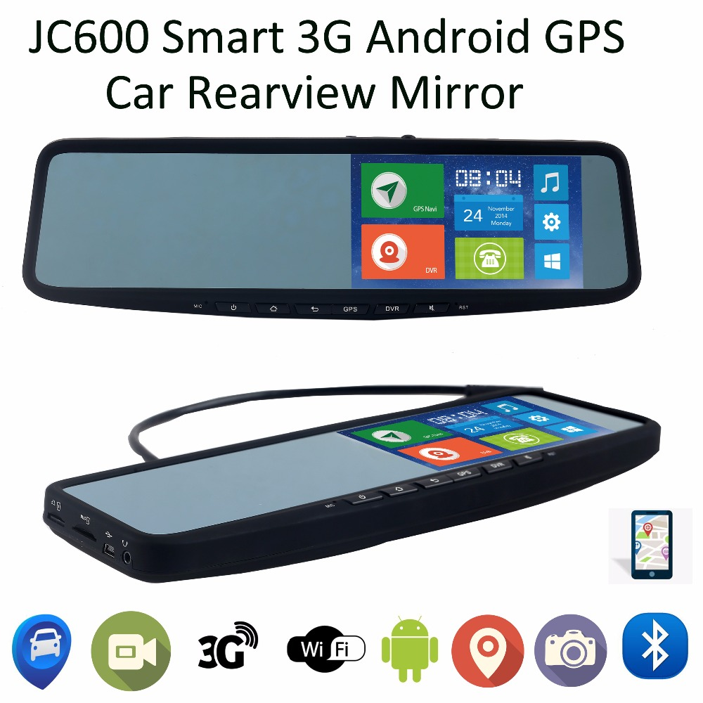 Smart Car Dvr Rearview Mirror 5inch Hd 1080p 3g Android With Gps
