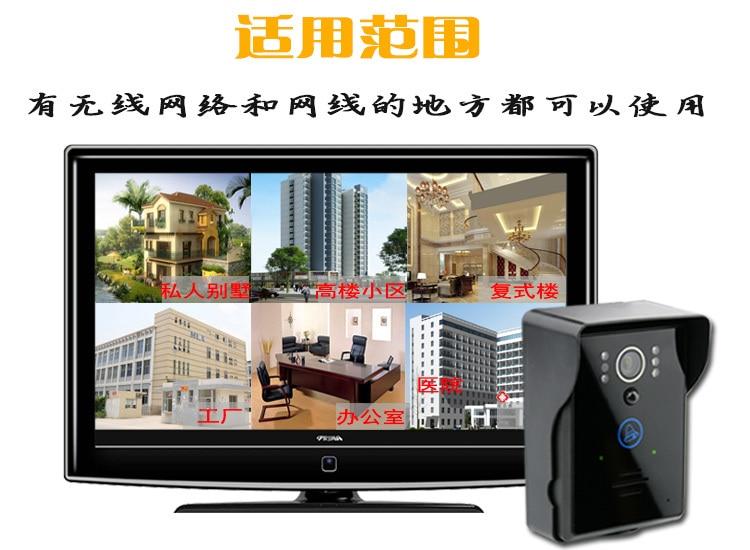 Wireless Intercom WIFI-Version Video-Türsprechanlage - Schutz und Sicherheit - Foto 5