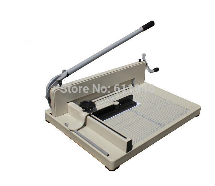 858-A3 Manual A3 Size Cutting Machine Desktop Stack Paper Cutter Paper Trimmer