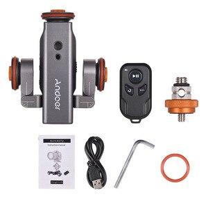 Image 2 - Andoer L4 PRO  Remote Control Mini Skater Motorized Camera Video Dolly Track Sliderfor Canon Nikon Sony DSLR Camera