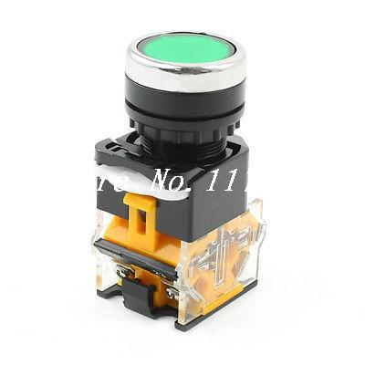 Industry NO NC Momentary Action Green Push Button Switch AC 660V 10A DPST