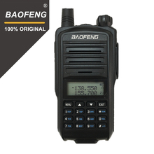 100% original baofeng UV 7R walkie talkie banda dupla uhf/vhf portátil receptor de rádio em dois sentidos polícia handheld hf presunto transciver