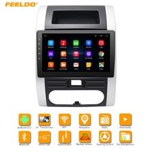 FEELDO 10,2 дюйма HD Android 6,0 4 ядра медиа-плеер с gps Navi Радио для Nissan X-Trail второго поколения (2007-2013