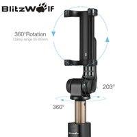 BlitzWolf BS3 Универсальный беспроводной Bluetooth Selfie Stick Мини Штатив Выдвижной Складной Монопод Live Stream Travel для iPhone 11 Pro X XR 8 Для Samsung Xiaomi 9 Huawei P30 Pro Смар... 3