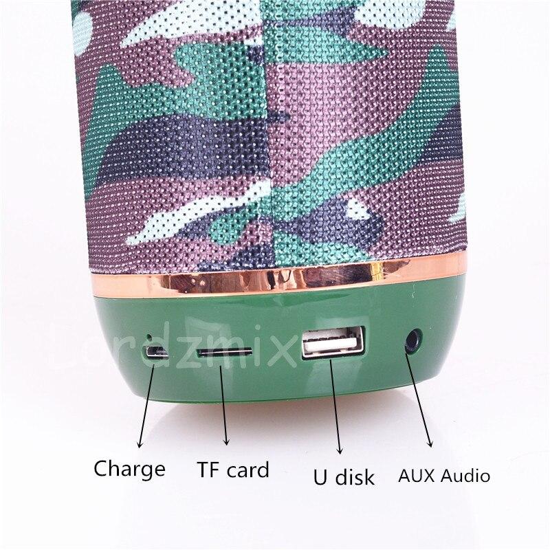 Беспроводной bluetooth-динамик, портативные колонки, звуковая стерео аудио коробка, Спортивная музыкальная колонка с FM TF для телефона lardmix