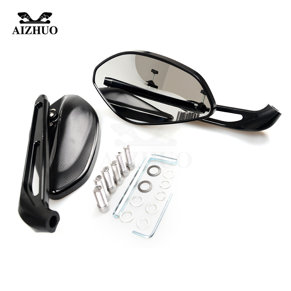 CNC Aluminum Motorcycle Rearview Mirrors Rear View Side Mirror FOR DUCATI ST2 ST4/S/ABS 748/750SS 900SS/1000SS 996/998/B/S/R