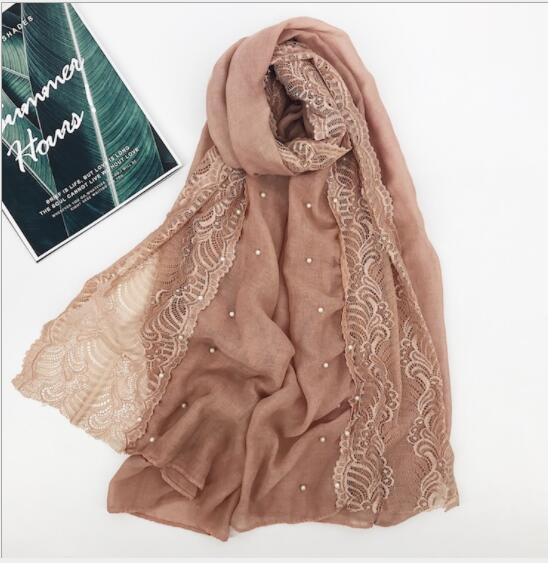 BR1  High Quality Big Size Lace  Hijab Scarf Shawl Women Wrap Headband 180*90cm 10pcs/lot Can Choose Colors