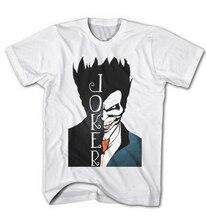 Fashion Top Tee Mens T-shirt Pour Hommes JOKER BATMAN DARK KNIGHT FILM COMIC Game NEW Print T Shirt