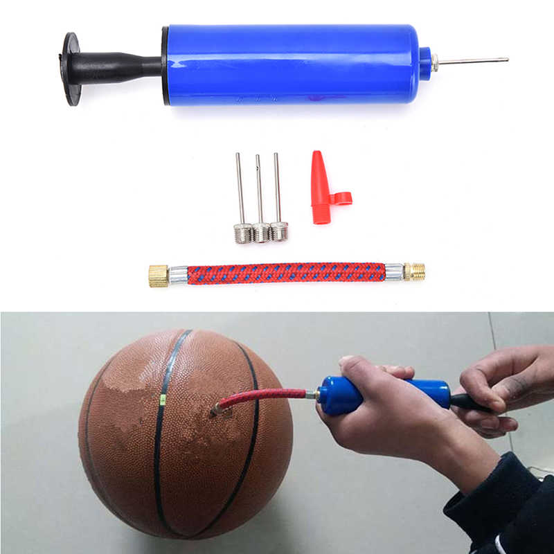 SOCCER BASKETBALL SPORT RUGBY ADAPTOR VALVE 10x BALL AIR INFLATION PUMP NEEDLE