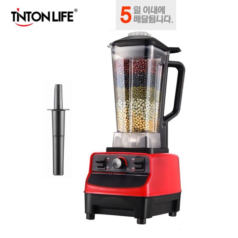 TINTON VITA 33000R/M 2L BPA Libero del Grado Commerciale Professionale Frullati di Potere Frullatore Robot da Cucina Spremiagrumi Cibo Processore Frutta