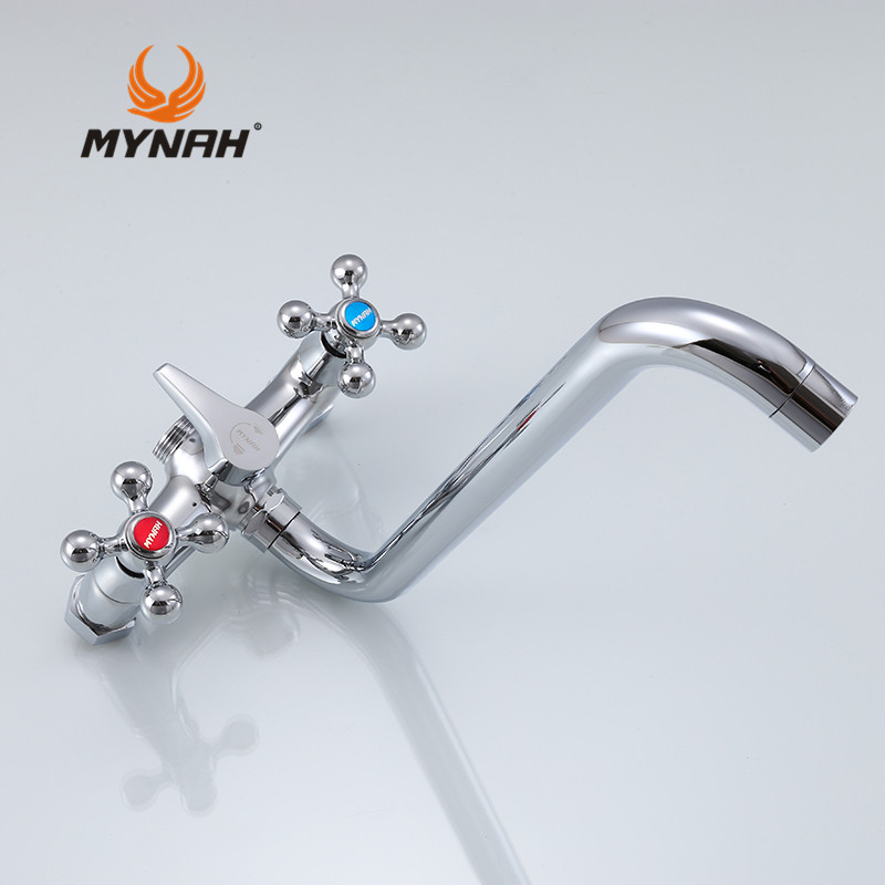 MYNAH Classic Style Bathroom Faucet Shower Bath Handle Holder ...
