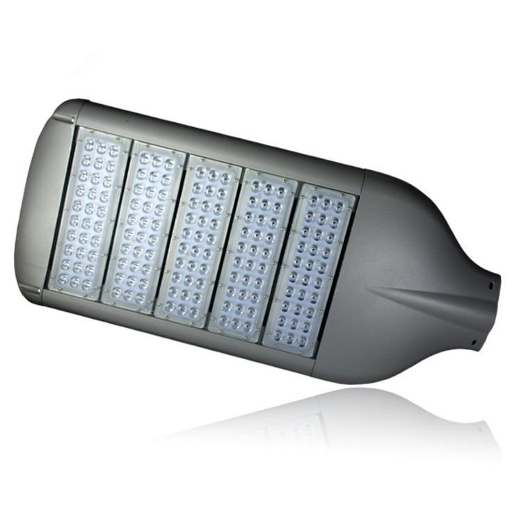 LED Streetlight 60W 90W 120W 150W 180W Street Light Road Lampa Bridgelux Chip AC85-265V Utomhusbelysning