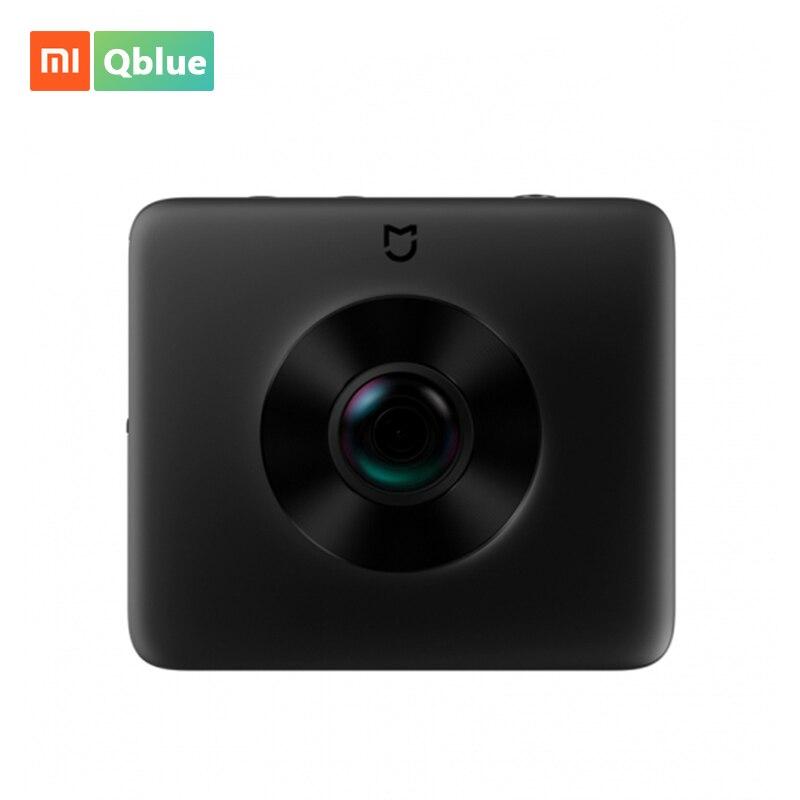 Xiao mi mi jia 360 caméra panoramique mi caméra sphère Ambarella A12 3.5 K 23.88MP caméra d'action prise en charge de l'enregistrement vidéo WiFi