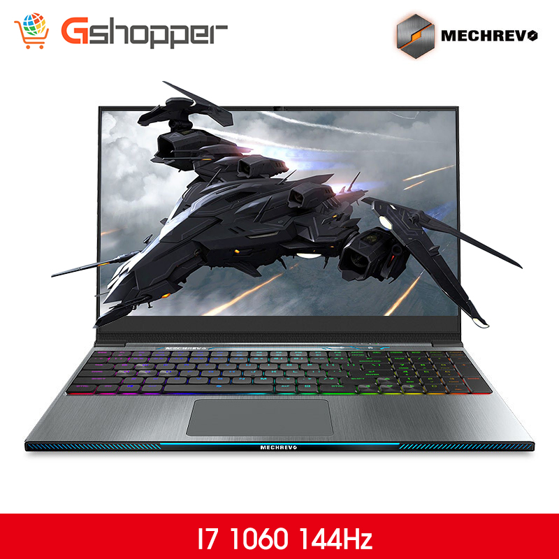 MECHREVO Z2 I7 1060 144 DDR4 2666Mzh 15.6 Intel 8th Laptop Gaming Laptop Windows 10 Notebook i7-8750h 1TB mechanical keyboard(China)