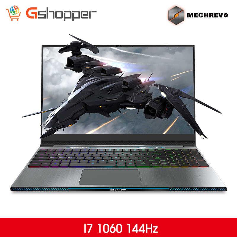 MECHREVO Z2 I7 1060 144 DDR4 2666Mzh 15.6 Intel 8th Laptop Gaming Laptop Windows 10 Notebook i7-8750h 1TB mechanical keyboard