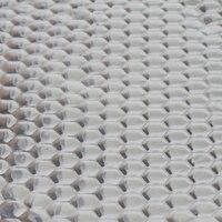 82cm X 46cm Car Sound Deadening Mat Aluminum Foil Automotive Sound Deadener Audio Noise Insulation And