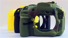 D800 Camera Bag Soft Silicone Rubber Protective Body Cover Case Skin for Nikon D810 DSLR Camera