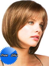 2016 Special Offer Limited Perruque 100%unprocessed Virgin Brazilian Human Hair Bob Front Lace Wigs & Full For African American