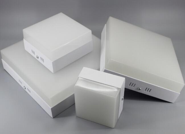 Doprava zdarma povrchová montáž smd akrylový kroužek led panel - Vnitřní osvětlení