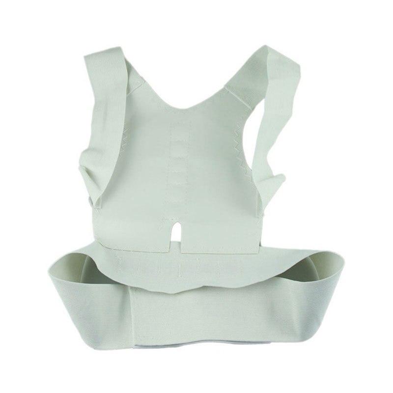 1pcs Adjustable Magnetic Posture Support Corrector Body Back Pain Belt Brace Shoulder for Men Women Braces & Supports