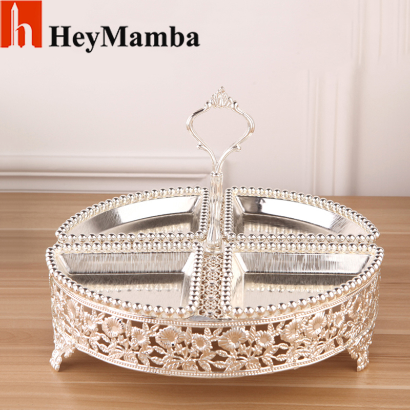 Crystal Cake Serving Tray With Cover