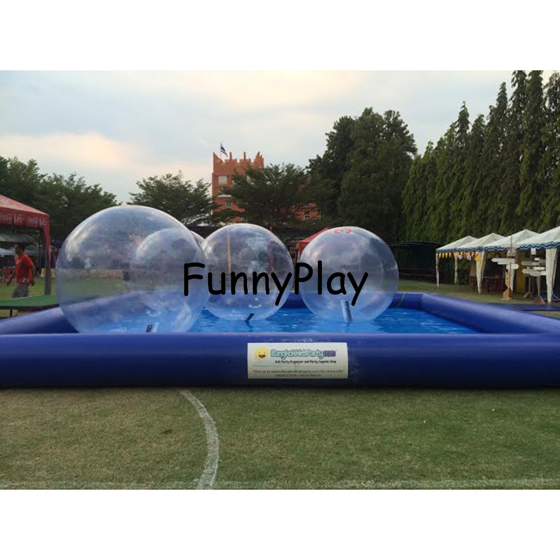 Big Inflatable Pool Rental,Inflatable Swimming Pools,inflatable Bumper Boat Water Ball pools,human hamster water zorb balls pool big inflatable swimming pool for water walking ball zorbing balls inflatable adult ground square swimming playground