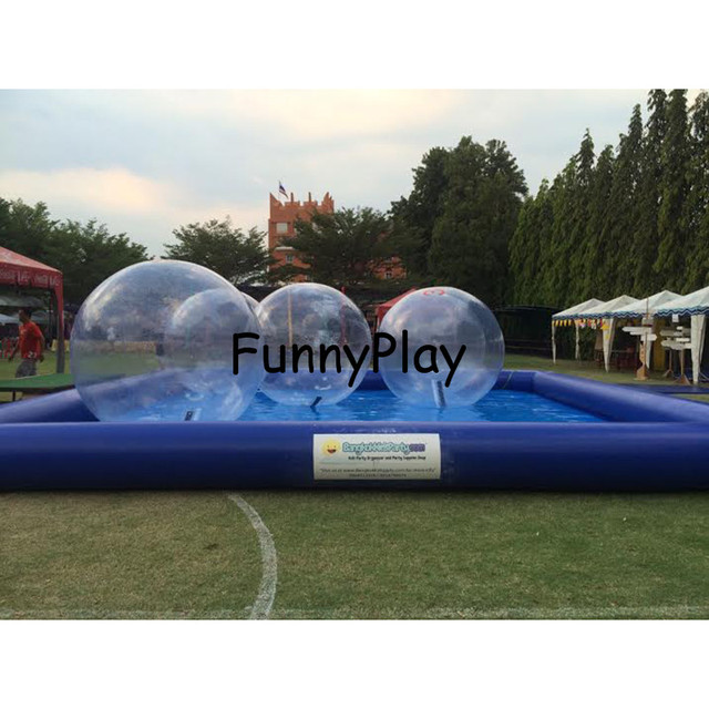 Big Inflatable Pool Rental,Inflatable Swimming Pools,inflatable Bumper Boat  Water Ball Pools,