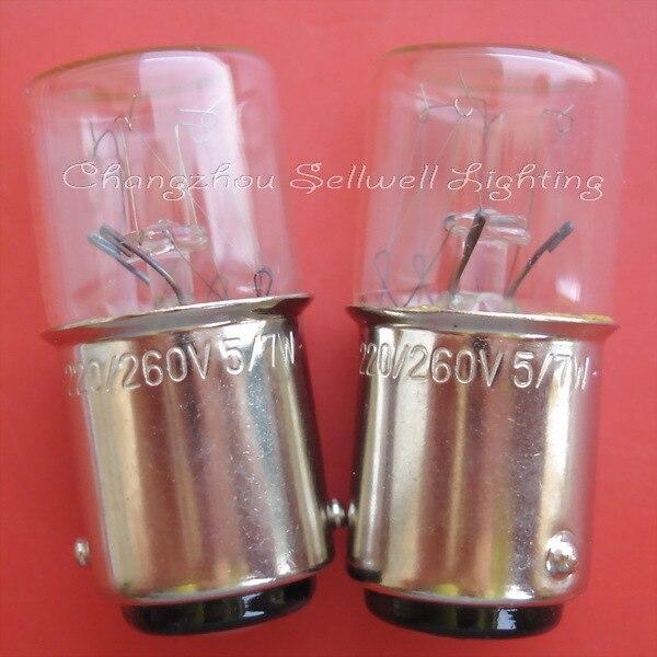 Miniaturní světlo 220 / 260v 5 / 7w ba15d t16x36 A323 NOVINKA 10pcs sellwell lighting