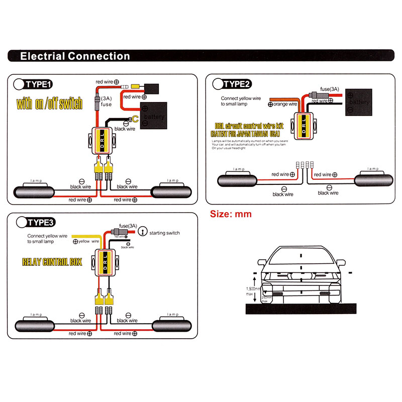 2Pcs Car Flexible Switchback LED Knight Rider Strip Light for Headlight Sequential Flasher DRL Flowing Amber bulb wiring diagram led strip light wire for detailed schematics