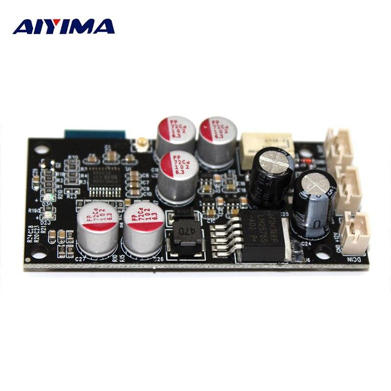 AIYIMA PCM5102A Decodificação DAC Decodificador Bordo Do Bluetooth Bluetooth 5.0 Receptor De Áudio AUX Apoio 16Bit Para Amplificador Preamp AMP DIY