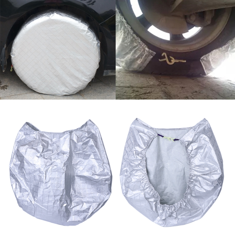 High Quality Tire Cover Waterproof Aluminum Film Sun Protectors Anti-Explosion 27 to 29 For Use On RV Trailers Campers Cars
