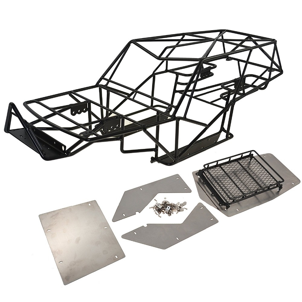 High Quality 1:10 Rc Crawler Metal Roll Cage Tube Frame Chassis With ...