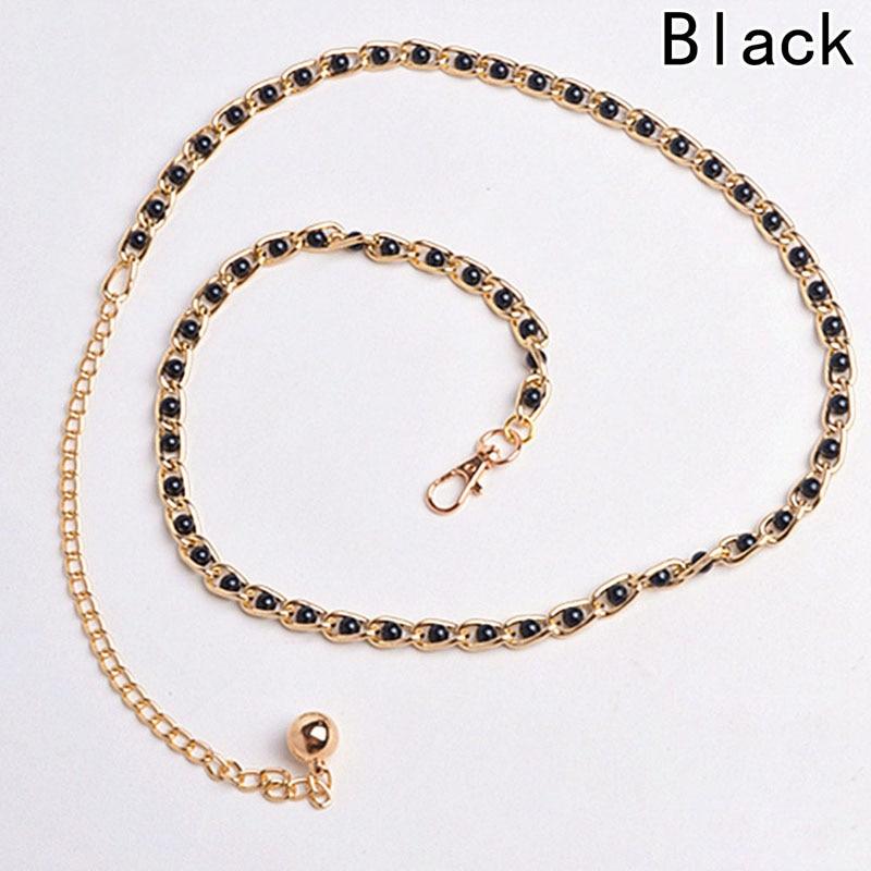 Self-Conscious Fashion Imitation Pearl Beads Waist Elegant Unique Pearl Waist Belt Waist Chain Women Waistband Strap Accessories 2018 New Women's Belts