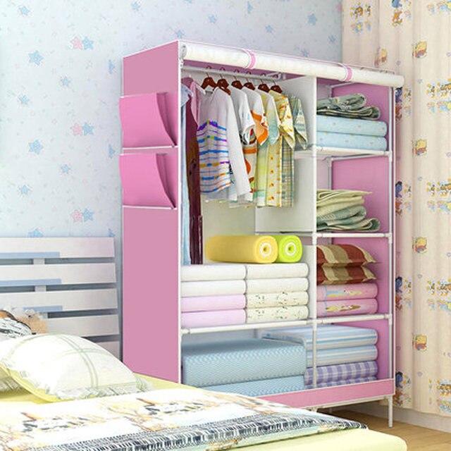 Tienda Online 3D patrón no tejido Telas armario no tejido plegable ...