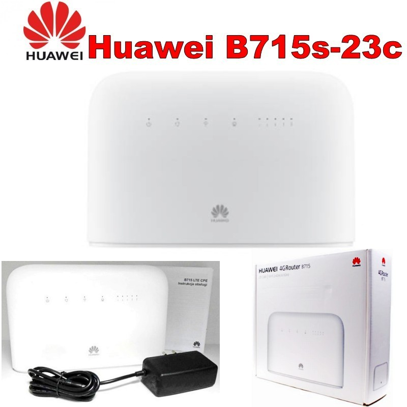 Lot of 10pcs Huawei B715 LTE Cat.9 WiFi Router image