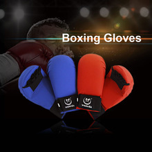 New Leather Fighting Fitness Boxing Gloves