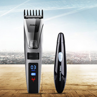 RIWA 100 240V Electric Hair Clipper Rechargeable Hair Trimmer LCD Display Waterproof Nose Trimmer Men Clipper