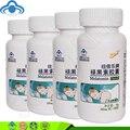 4 garrafas/lote pílulas para dormir melatonina cápsula
