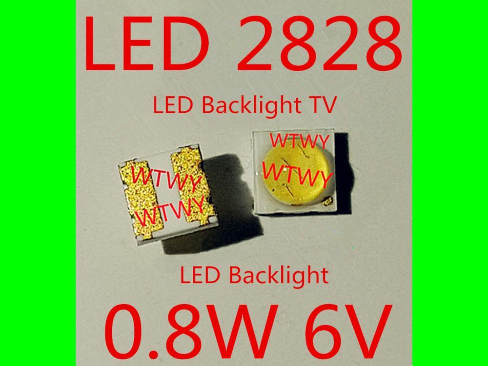 1000pcs For SHARP LED LCD TV Backlight Application LED 2828 LED Backlight TV High Power 0