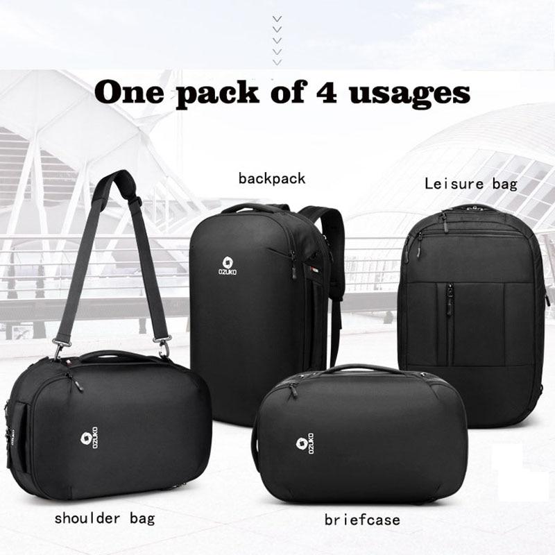 Backpack Men s Brand 15 6 inch Notebook Computer Travel School Bags For Teenagers Big Designer