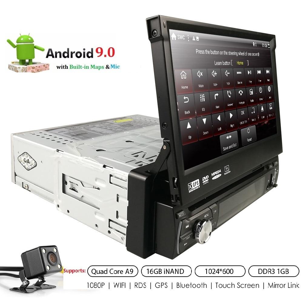 Android 9 1 din lecteur dvd de voiture Auto Radio GPS Navigation 7