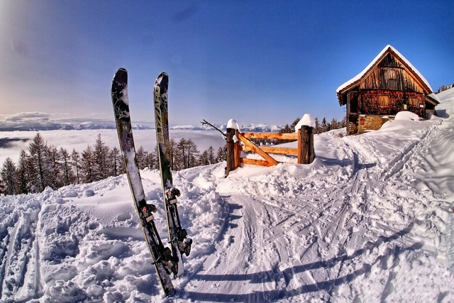 lever du soleil coucher du soleil d 39 hiver de neige nature paysage ski sport kd190 salon accueil. Black Bedroom Furniture Sets. Home Design Ideas